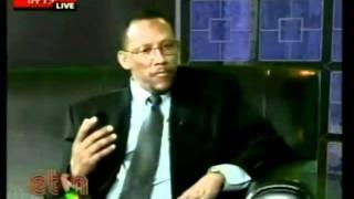 Ethiomedia editor being interviewed by Tamagne Beyene
