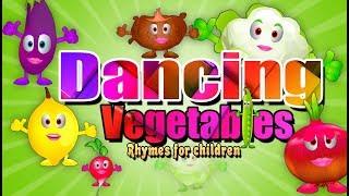 Dancing Vegetables Song   Best Simple rhymes for Children   Kids Club Rhymes