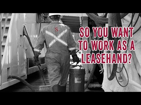 So You Want to Work as a Drilling Rig Leasehand?