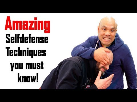 Amazing selfdefense techniques you must know   Happy New Year