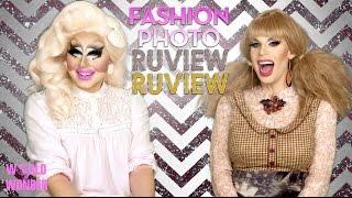 Trixie & Katya's Fashion Photo RuView, RuView of Raja & Raven