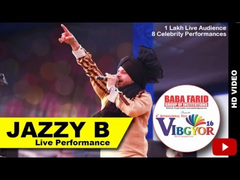 JAZZY B  performing at VIBGYOR16 || Sucha Soorma