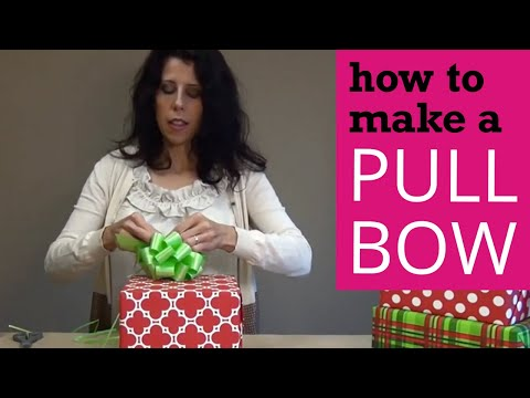How to Make a Pull Bow