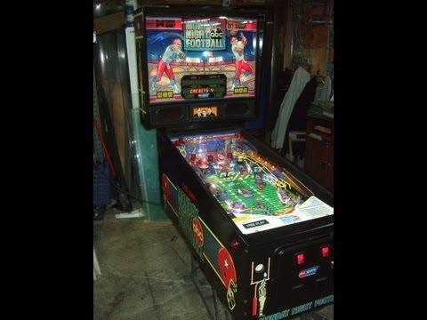 nfl pinball machine for sale