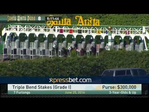 Triple Bend Stakes (Gr. I) - Saturday, June 25, 2016