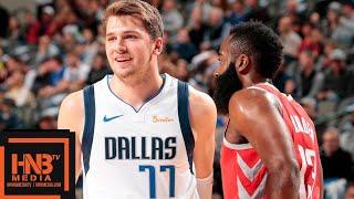 Houston Rockets vs Dallas Mavericks Full Game Highlights   12.08.2018, NBA Season