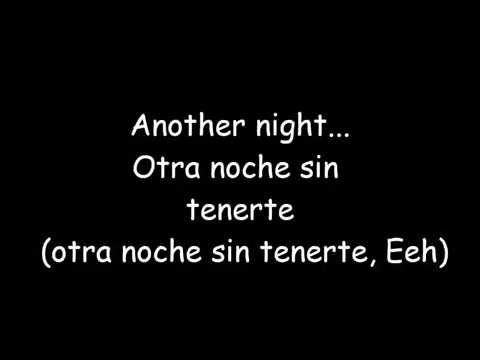 Another Night —  Proyecto Uno (Letra) JFM