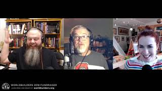 Parenting Stream with Pat Rothfuss, Felicia Day, and Clint McElroy - Worldbuilders Fundraiser 2018