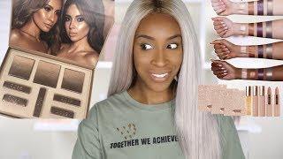 Trying Desi X Katy's Makeup Collection! | Jackie Aina