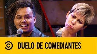 Paty Bacelis VS Lalo Elizarrarás | Duelo de Comediantes | Comedy Central LA