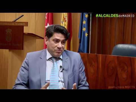 David Pérez, alcalde de Alcorcón  'La izquierda nunca ha aceptado que gobernemos'