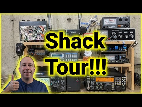 Ham Radio Shack and Workbench Tour