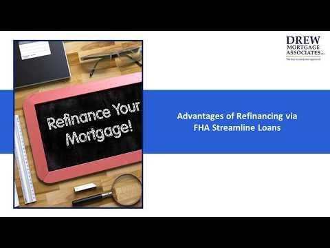 Advantages of Refinancing via FHA Streamline Loans