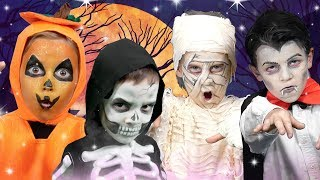Halloween Finger Family | We Love Face Paint