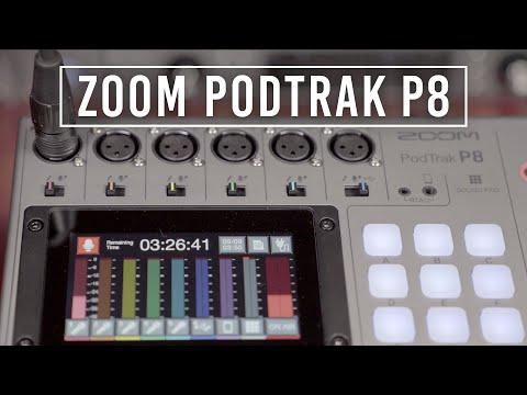 Zoom PodTrak P8: A Podcast Recorder