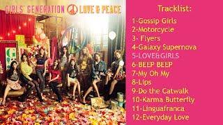[FULL ALBUM] GIRLS' GENERATION - LOVE&PEACE | 3rd JAPAN ALBUM