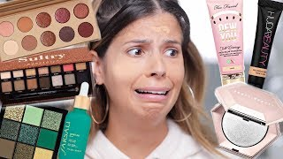 NEW VIRAL OVERHYPED MAKEUP 2018| HITS AND MISSES