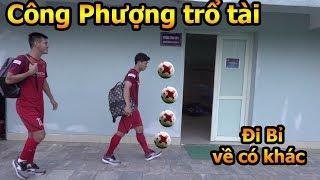 Đỗ Kim Phúc đi xem Công Phượng , Quang Hải ĐT Việt Nam tập vòng loại World Cup 2022 Test Iphone 11