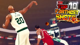 NBA 2K20 TOP 10 LUCKIEST & FARTHEST Trick Shot Plays Of The Week #10