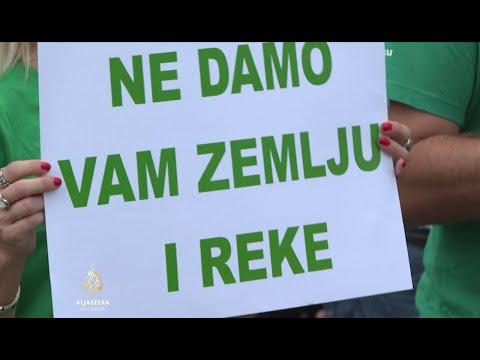 Građani i aktivisti protiv izgradnje rudnika u Loznici