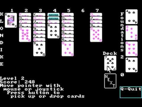 Klondike (George Leritte) (MS-DOS) [1987]