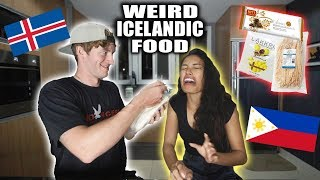 FILIPINA TRYING ICELANDIC Food & Candy For First Time