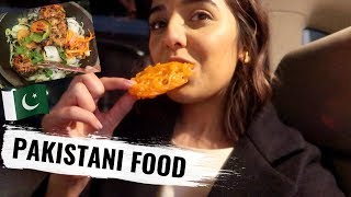 TRYING DELICIOUS PAKISTANI FOOD   VLOG