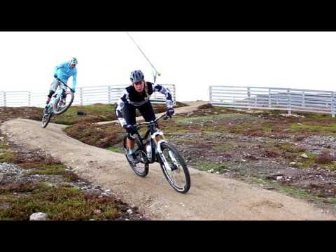 Cykel på Idre Fjäll