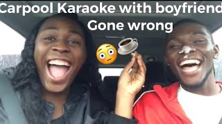 Carpool karaoke/Vlog with boyfriend