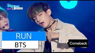 [HOT] BTS - RUN, 방탄소년단 - 런, Show Music core 20151205
