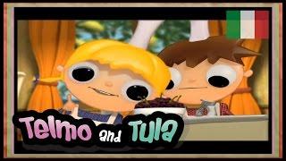 Telmo e Tula - Insalata di frutti di bosco - Ricette per bambini