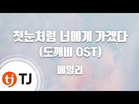 [TJ노래방] 첫눈처럼너에게가겠다(도깨비OST) - 에일리(Ailee) / TJ Karaoke