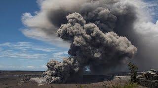 Hawaii's Kilauea volcano explodes, spewing ash in air