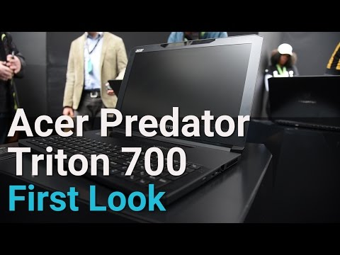 Acer Predator Triton 700 High-End Thin & Light Gaming Laptop First Look | Digit.in