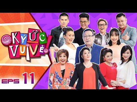 Ký Ức Vui Vẻ -Tập 11 FULL HD | Nghệ sĩ Hồng Nga, Thoại Mỹ vừa hát