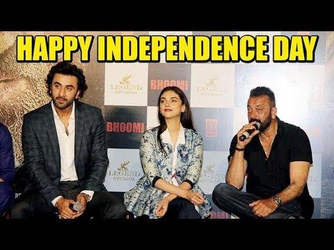 Sanjay Dutt, Ranbir Kapoor and Aditi Rao Hydari wishes Happy Independence Day!