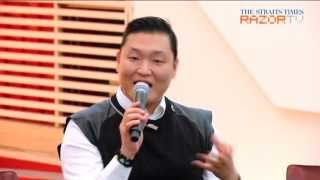Why did Psy borrow Brown Eyed Girls' dance?