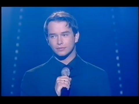 Stephen Gately sings