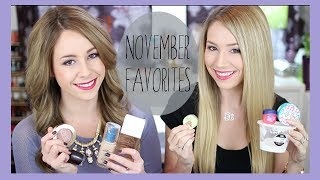 November Favorites - Drugstore Makeup, Fragrance, Movies + more!