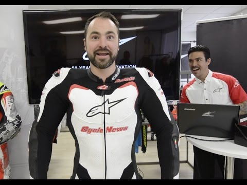 Deploying the Alpinestars Tech Air airbag vest! - Cycle News