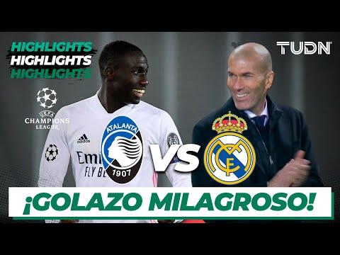 Highlights   Atalanta vs Real Madrid   Champions League 2021 - Octavos   TUDN