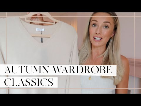 PLANNING MY AUTUMN OUTFITS 🍂 Classic Autumn Wardrobe Essentials + How To Style // Fashion Mumblr Ad