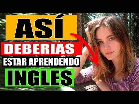 ASI DEBERIAS ESTAR APRENDIEDO INGLES (MUCHO MAS FACIL) APRENDE INGLES MAS FACIL Y RAPIDO