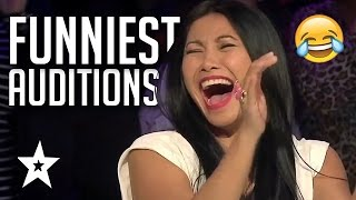 Funniest Auditions On Got Talent Ever | Asia's Got Talent