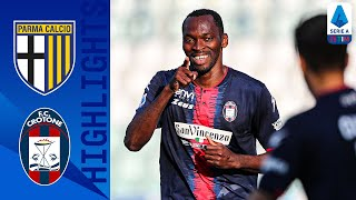 Parma 3-4 Crotone   7 Goal Thriller in Battle Between Bottom Two!   Serie A TIM