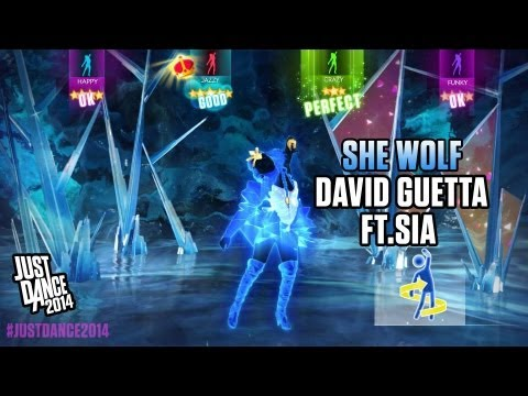 Baixar David Guetta ft. Sia - She Wolf (Falling to Pieces) | Just Dance 2014 | Gameplay