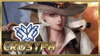 """""""CROSYPH"""" WORLD'S BEST ASHE PLAYER - OVERWATCH MONTAGE"""