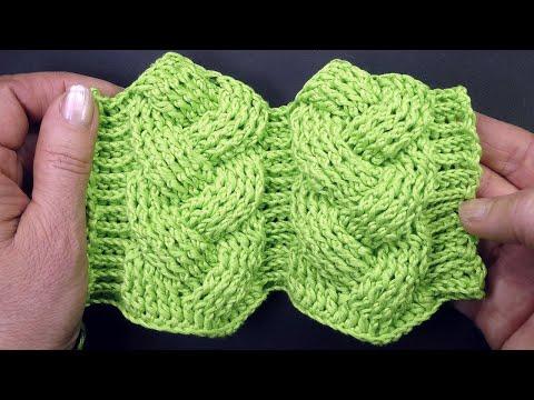Большая объемная коса крючком 3 часть — 5 и 6 ряды Лучшие узоры вязания крючком