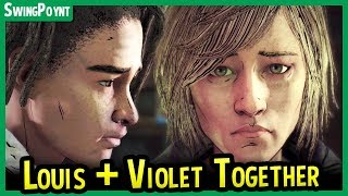 Louis Piano + Violet Singing PUT TOGETHER - The Walking Dead The Final Season Episode 3 Choices