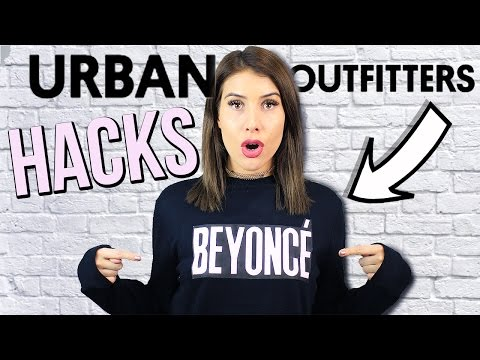 URBAN OUTFITTERS Clothing Hacks Every Girl MUST Know!